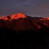 Pikes Peak at Sunrise