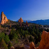 Central Garden of the Gods Panorama