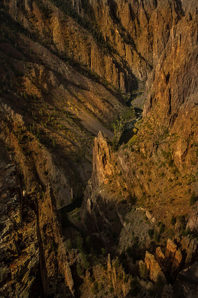 """Our surroundings were of the wildest possible description"".   Abraham Lincoln Fellows wrote this in 1901 on a raft trip down the Black Canyon's Gunnison River.<br /> Photo © Cindy Clark"