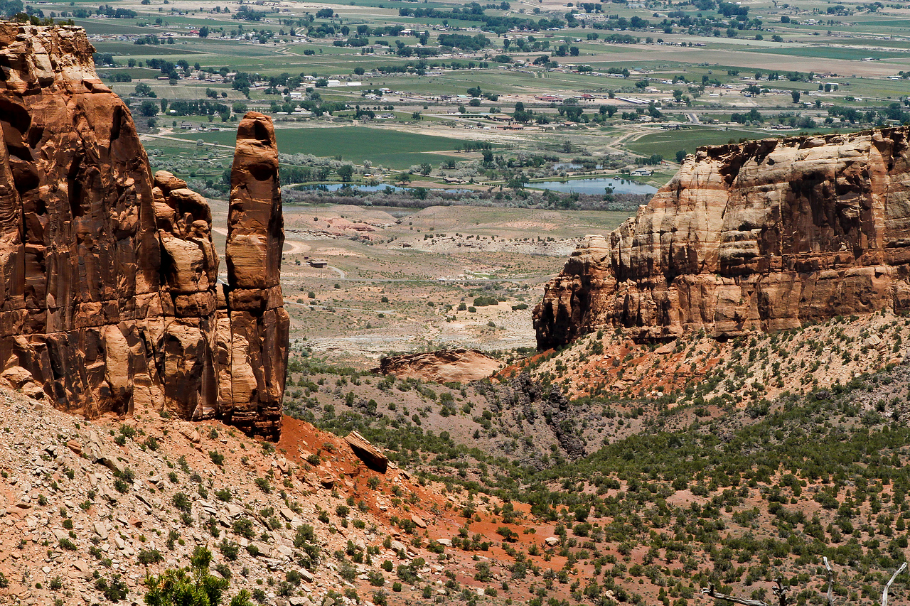 Monument Valley in Colorado National Monument