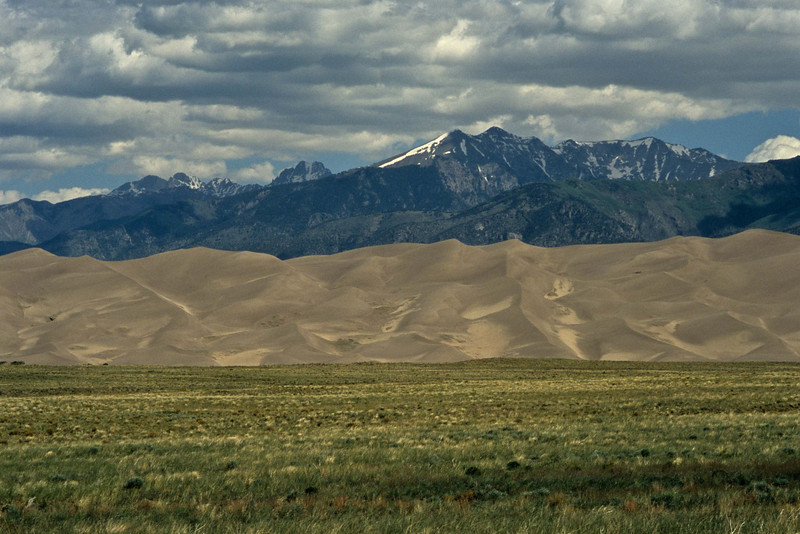 Band of sand at Great Sand Dunes National Park.<br /> Photo © Carl Clark