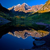 Maroon Bells Peaks Reflection