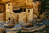 The Cliff Palace ruins at Mesa Verde.<br /> Photo © Cindy Clark