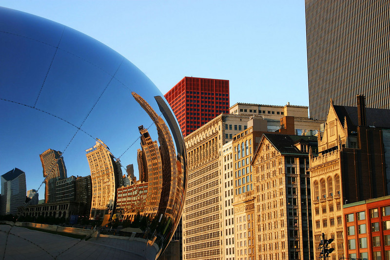 Chicago Bean at first light