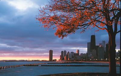 Sunrise in Chicago