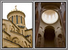 Views of Sameba Cathedral Tbilisi