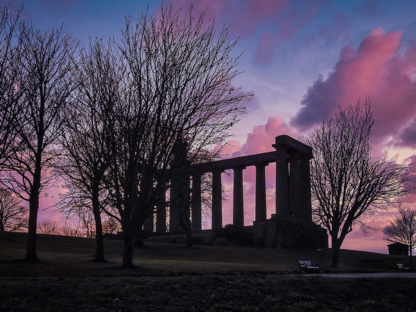 The National Monument at Dusk