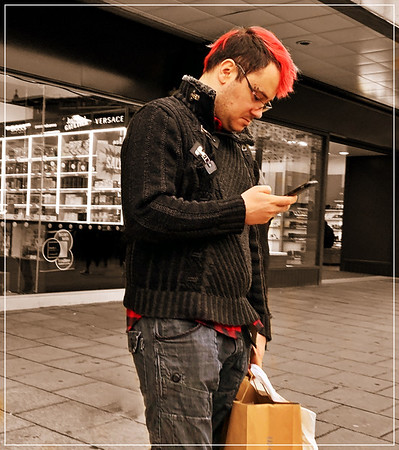 The Pink Haired Shopper