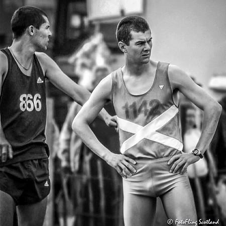 Highland Games Athletes