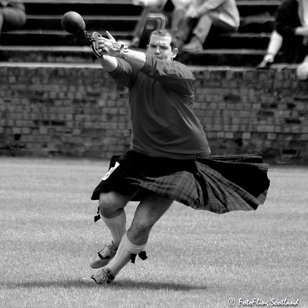 Throwing the Weight for distance