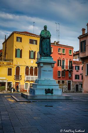 Statue: Paolo Sarpi - Campo Santa Fosca