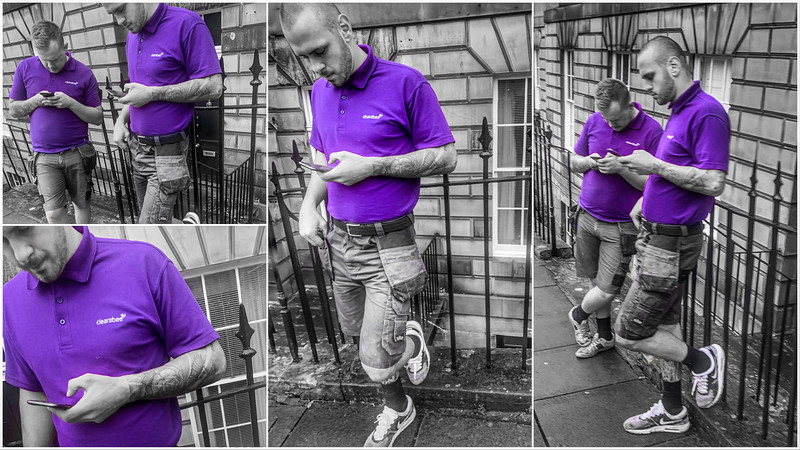 The Boys in Purple