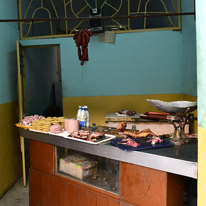 Butcher's Shop in Havana