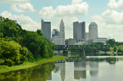 Columbus Skyline from the Confluence