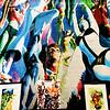 Art at Comic Con in San Diego California