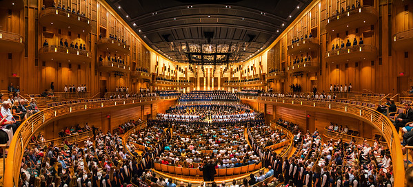 Brilliant architecture showing off at Strathmore Concert Hall in D.C.