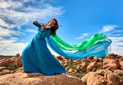 Beautiful shot of Amy Dutton in the Arizona desert. 2015