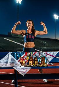 USA Olympian April Steiner-Bennett Mesa, AZ,  Pole Vaulter