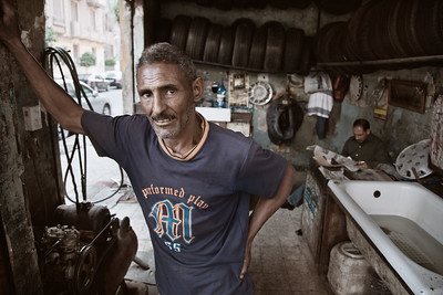 Tire Shop Owner - Cairo