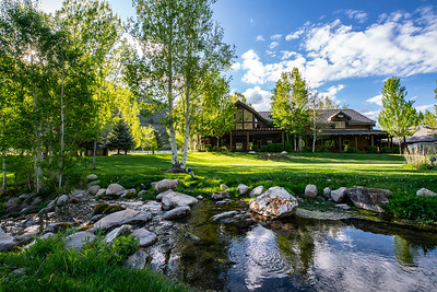 Beautiful creek in beautiful Utah. Hobble Creek Lodge 2018