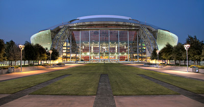 Perfect symmetry at this Dallas Cowboy Stadium, 2012, Dallas TX