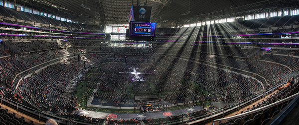 Restoring Love Glenn Beck Event, Cowboy Stadium Dallas, TX