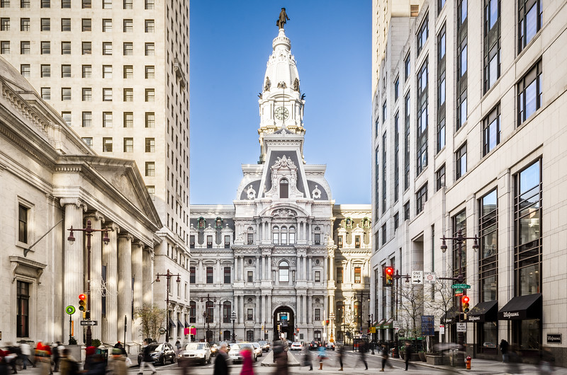 Commercial Architecture Photography of City Hall in Philadelphia PA for TierView Capital.