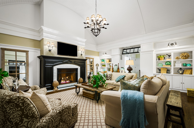 Interior Architectural Trimwork Photography for the Home Trimwork Company in PA
