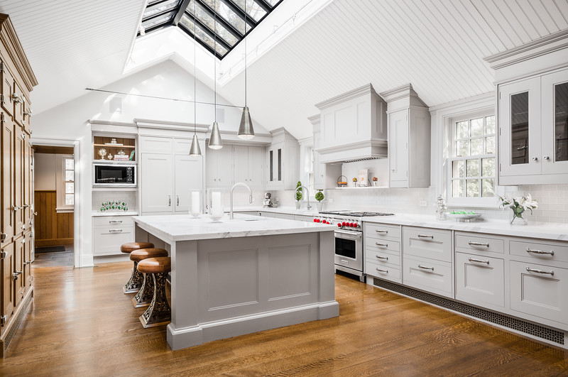 Interior Kitchen Real Estate Photography for Callaway Henderson Sotheby's International Realty in Princeton New Jersey