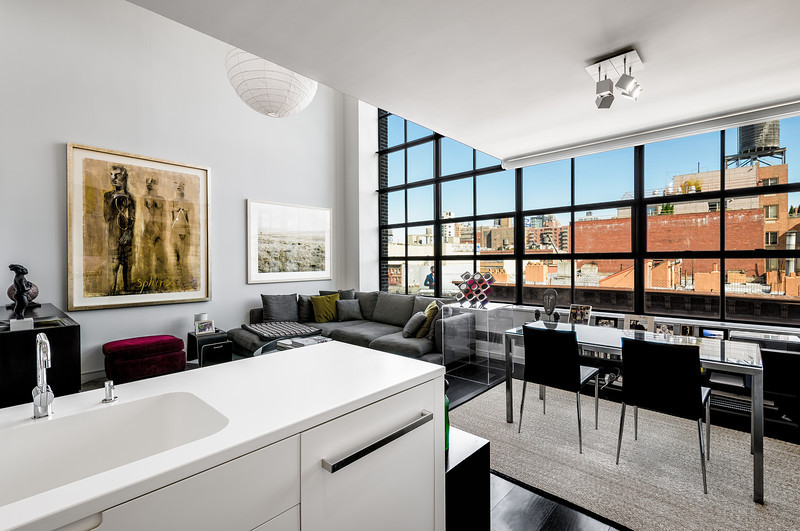 Apartment Interior Real Estate Photography for Sotheby's International Realty - Downtown Brokerage in New York City.