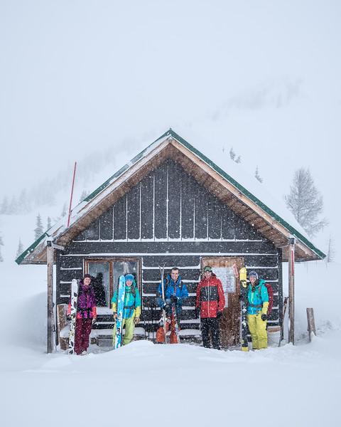 Jumbo Pass Cabin
