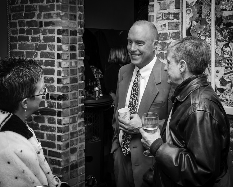 Off the Rack, 2013-The VIP Reception at the Loft