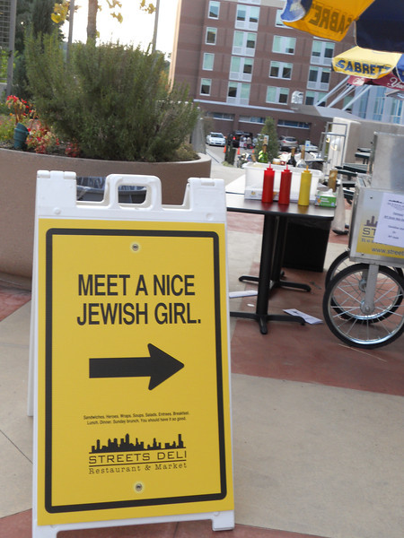 Susan Hoerger - Nice Jewish Girl sign