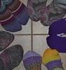 purple feet mandala