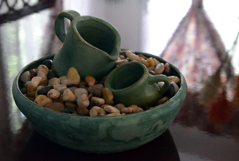 Songyun Zhu: 7-Water Fall Pottery by My Son