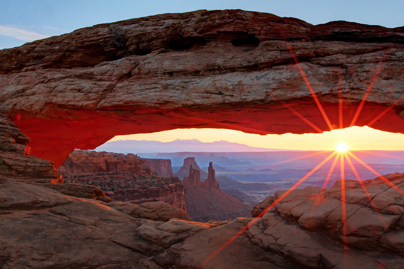 1st prize winner - Ed Pattishall: Strength of a New Sun & A New Day {Mesa Arch Sunrise}