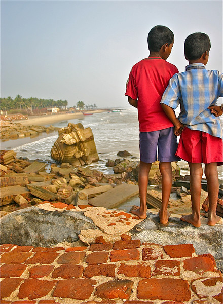 {1st prize winner} 20100220 'Water' - Laura Dunne: After the tsunami, Tamil Nadu coast, India [20110220 competition]