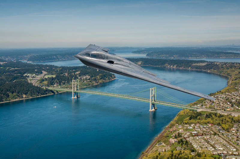 B-2 over the Narrows-2