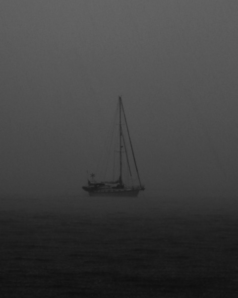 """Sailors Fog"", Somewhere caught it rain (not fog) in the beginnings of the broad river, SC"