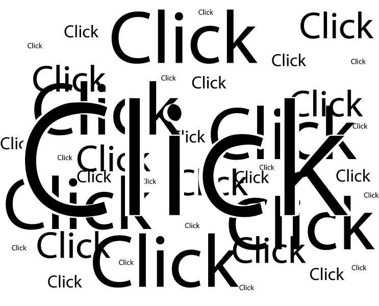 click-words