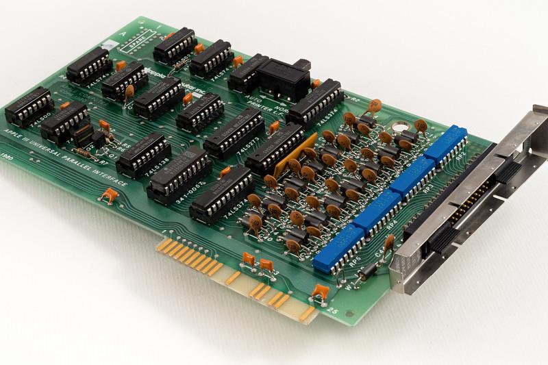Apple /// Parallel Universal Interface. Circa 1981.