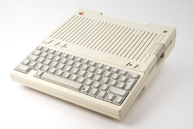 Apple //c. 65C02 @ 1.023 MHz. 128kB of RAM.