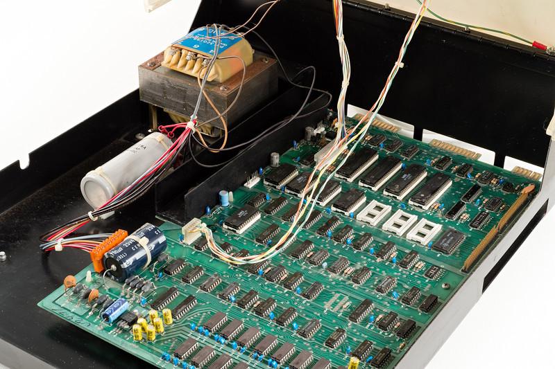 Commodore CBM 3032, assembled on 7 FEB 1980.