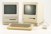 Apple Macintosh 512K (1984-1986). On the left, a Macintosh SE30 (1989-1991).<br /> DSC_5081