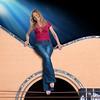 A unique press shot of guitarist Muriel Anderson.  <br /> MurielAnderson.com