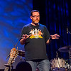 """""""Science"""" Mike McHargue emcee'd the show"""