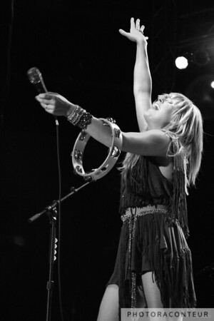 Grace Potter in Las Vegas, July 2011  (Photo by Benjamin Padgett)