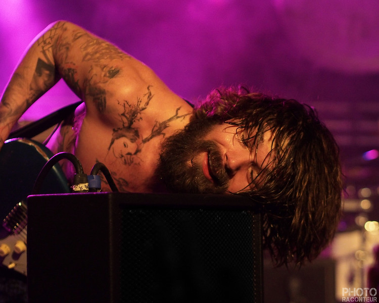 Simon Neil of Biffy Clyo in Las Vegas on the 15th of February 2014.  See full gallery HERE