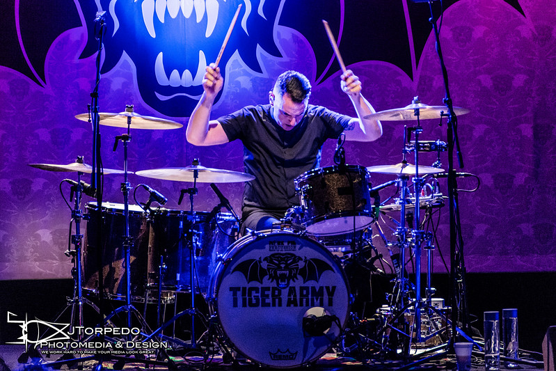 JTorpedo Shoots (Tiger Army) at (The Observatory NP) in (San Diego, CA) on (February) the (11th), 2016
