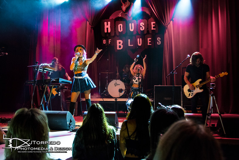 Alexa Villa at the San Diego House of Blues RAW Artist event